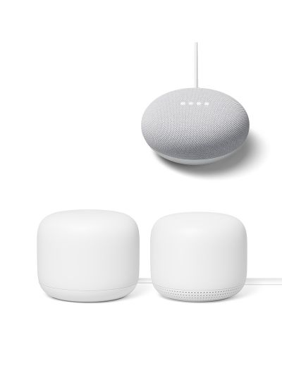 Google Nest Wifi Router + Point + Mini