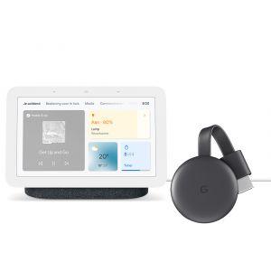 Google Nest Hub 2nd Gen - Charcoal met Chromecast
