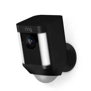 Ring Spotlight Cam Batterij Zwart