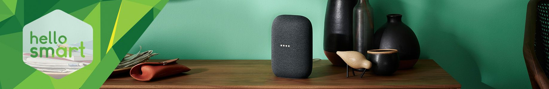 Header Google Nest Audio